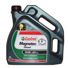 4Lt Olio motore Semis. Castrol Magnatec Diesel 10W-40 ottimo auto motori gasolio