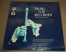 Pieter van Veen MUSIC FOR RECORDER Pepusch/Barsanti - Odeon SHMO 5001 SEALED