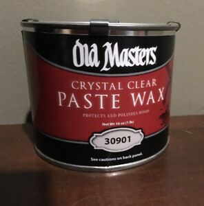 Old Masters 30901 Paste Wax  16-oz.