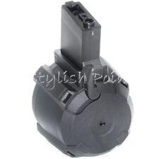 Airsoft BATTLEAXE 1400rd Electric Drum Mag Magazine For 416 M4 M16 M-Series AEG
