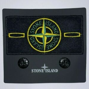 STONE ISLAND PATCH [Toppa + Bottoni] Badge Ricambio Originale Stone Island Patch