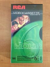 RCA T-120 SIX HOUR BLANK VHS VIDEO CASSETTE TAPE BRAND NEW  FREE SHIPPING