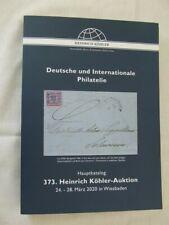 Kohler Stamp Auction Catalogue - German & International Stamps - March 2020