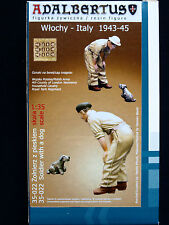 Soldier with a Dog, Italy 1943-45, ADALBERTUS, ADB 35022, 1:35