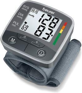 Tensiómetro de muñeca monitor de presión arterial Pantalla LCD Beurer Bc32