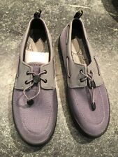 Sperry STS41072 Flex Deck Grey Men's Boat Shoes 11 M US NEW