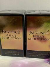 Beyonce Heat Seduction 50ml EDT Eau De Toilette Spray 2x 50ML