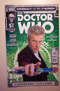 DOCTOR WHO TITAN COMICS SUPREMACY OF THE CYBERMEN #05 COVER B DECEMBER 2016
