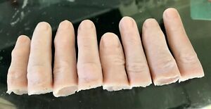 Severed finger prosthetic prop