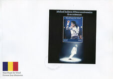 Chad 2018 FDC Michael Jackson 1v M/S Cover II Popstars Music Celebrities Stamps
