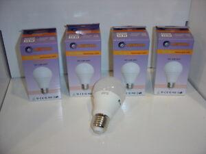 KIT 4pz Lampadina Goccia Led E27 10W consumo resa 75W luce calda Lampitalia
