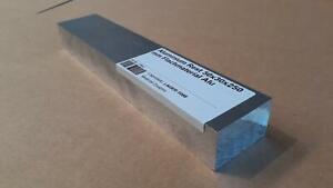 (56,24 EUR/m) Aluminium Rest 50x30x250 mm Flachmaterial Alu