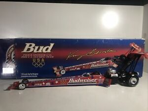 Action 2000 1:24 Kenny Bernstein Budweiser Olympic Team Dragster Diecast Topfuel