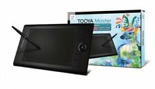 PenPower Tooya Master USB Digitizer - Battery-Free Stylus, Black (STYMA6K1EN)