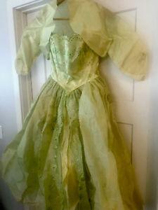 Vintage 50s 60s Prom Dress Taffeta Tulle Frothy Twirly Crinoline Cottagecore