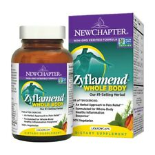 New Chapter Zyflamend Whole Body Supplement 120 Vcaps Free FAST Shipping
