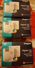 Drayton Digistat +rf RF601 Wireless Room Thermostat **1ST CLASS DELIVERY !!!