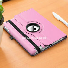 """Leather Case For Apple iPad 10.2"""" 7th Generation 2019 360 Rotating Stand Cover"""