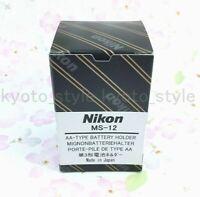 Nikon MS-12 AA-Type Alkaline Lithium Battery Holder 20796 JAPAN