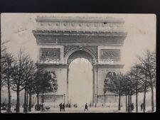 France PARIS XIX 66 Arc de Triomphe l'Etoile c1906 by E.V. of Paris