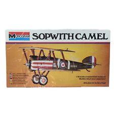 Monogram Sopwith Camel 1:48 Scale Plastic Model Kit SEALED