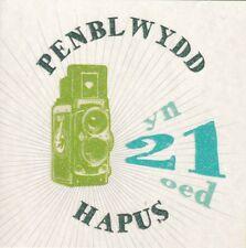 Welsh Language 21st Birthday Card - Penblwydd hapus yn 21 eod - Male Age 21