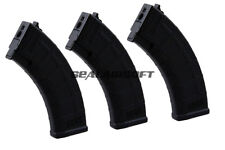 CYMA 600rds PMAG Hi-Cap Airsoft Magazine For AK47 AKM AEG Series Black C189 3PC