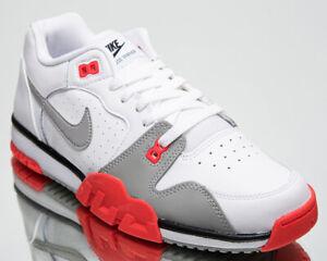 Nike Air Cross Trainer 3 Low Men's White Light Smoke Grey Lifestyle Sneaker Shoe
