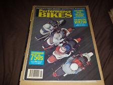 Performance Bikes - January 1990 - VFR750 - Motorcycle Magazine