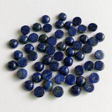 Wholesale 6mm natural Lapis Lazuli stones beads round CAB CABOCHON 50pcs/lot