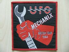 Aufnäher - Patch - UFO - Mechanix - British Tour 1982 - Michael Schenker Group