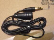 "4 of Original iRiver external microphone for all Audio -44"" long + clip on shirt"