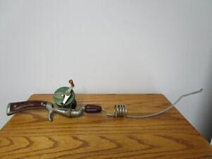 Vintage J.C.Higgins pistol grip fishing Rod and Reel Combo