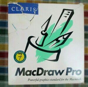 CLARIS MACDRAW PRO Ver.1.5 SYSTEM 7 COMPATIBLE for APPLE MACINTOSH / NOS - 1992