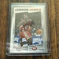 LEBRON JAMES 2003 ALL SPORTS 1 OF 1750 ROOKIE CARD RC RARE