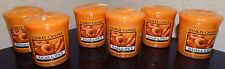 Yankee Candle Set of 6 Sugar & Spice Votives New 1342450