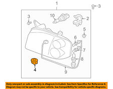 NISSAN OEM Door Side Rear View Mirror-Mirror Assy Nut 0891110637