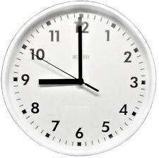 Acctim Wickford Round Wall Clock White 22492