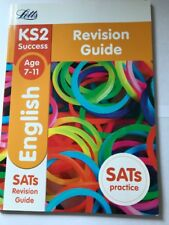 Letts KS2 Success English Age 7-11 SATs Revision Guide NEW FREE P&P