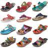 SOCOFY Women's Handmade Bohemian Slippers Platform Wedge Shoes Leather Pumps