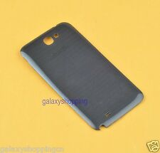 Black For Samsung Galaxy Note 2 N7100 Genuine OEM  Battery Door Back Cover Case