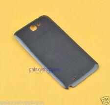 Black For Samsung Galaxy Note 2 N7100 Genuine OEM  Battery Door Back Cover Case