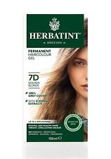 HERBATINT HERBAL NATURAL HAIR DYE GOLDEN BLONDE 7D 150ml - AMMONIA FREE