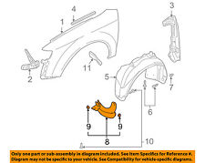 AUDI OEM 02-09 A4 Quattro Fender-Extension Bracket Left 8E0853887A
