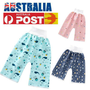 Comfy Baby Toddler Children Diaper Skirt Shorts Waterproof & Absorbent Pants AU