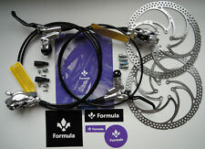 Formula - Impianto Formula CURA 2021 Argento Polish/Silver Polish + dischi/disks