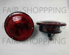 Rear Combination Tail Light Red for Willys Jeep CJ3 CJ5 CJ6 CJ2A CJ3A CJ3B