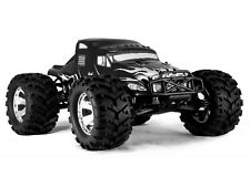 Redcat Racing Earthquake 3.5 1/8 Scale Nitro Monster Truck SEMI BLACK Color