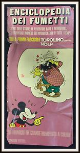 ⭐ Locandina per edicole Enciclopedia Fumetti Disney - 1970 - DISNEYANA.IT ⭐