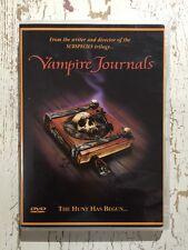 VAMPIRE JOURNALS (DVD R-Unknown 1997)  Jonathon Morris Kirsten Cerre VGC